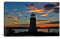Sunset on Havasu, Canvas Print