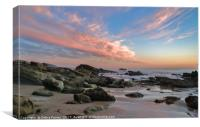 Sunset on Laguna, Canvas Print