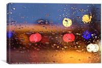 Rain On My Bokeh, Canvas Print