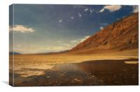 Badwater Basin, Canvas Print