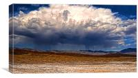 Death valley Thundercloud, Canvas Print