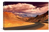 Death Valley Drive, Canvas Print