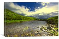 Breamish valley, Northumberland, Canvas Print