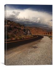 Desert Highway, Canvas Print