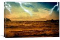The Wrath of God!, Canvas Print