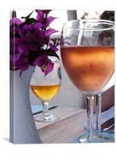 Rose Wine, Canvas Print