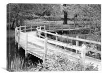 Footbridge, Canvas Print