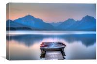 Lake McDonald, Canvas Print