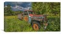 Farm Truck, Canvas Print