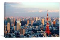 Tokyo Skyline, Canvas Print