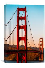 Sunset San Fran, Canvas Print