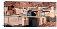 Hoover Dam, Canvas Print