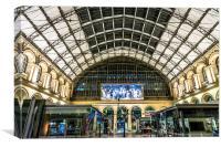 Gare du lEst, Canvas Print