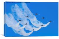 Formation, Canvas Print