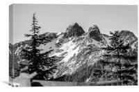 Twin Peaks, Canvas Print
