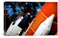 Space Shuttle, Canvas Print