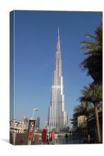 Burj Khalifa Dubai, Canvas Print