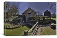 watermill, Canvas Print