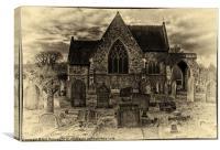 lewisham chapel, Canvas Print
