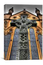 st margarets church lee, Canvas Print