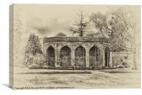 the pavilion, Canvas Print