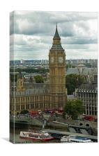 London Landmark, Canvas Print