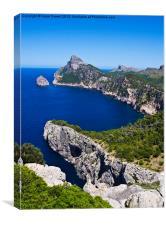 Cap de Formentor, Majorca, Canvas Print