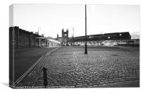 Temple Meads, Canvas Print
