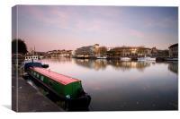 Bristol City Docks, Canvas Print