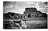 Tynemouth Priory, Canvas Print