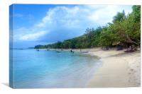 Fijian Paradise, Canvas Print