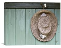Summer Hat, Canvas Print