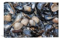 Cockles and Mussels, Canvas Print