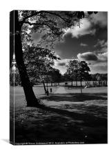 Rosehill Park, Canvas Print
