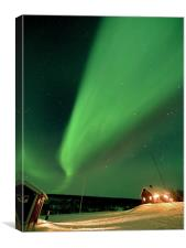 Aurora Shower, Canvas Print