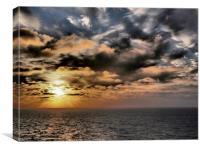 Dramatic Seaset, Canvas Print