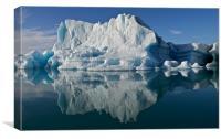 Iceberg, Canvas Print