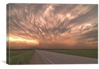 Skies Alive, Canvas Print