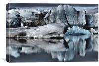 Iceberg Ash, Canvas Print