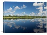 Cloud Reflections, Canvas Print