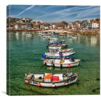 ST. IVES, Canvas Print