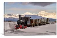 Old Train, Canvas Print