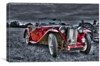 MG T Midget, Canvas Print