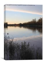 Murray River Sunset Series 1, Canvas Print