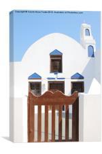 Church, Oia, Santorini, Canvas Print