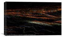 City Symphony in Light #5, Canvas Print