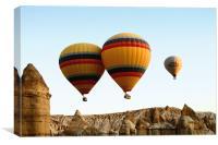 Hot Air Ballooning, Canvas Print