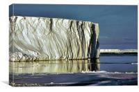 Iceberg Ross Sea Antarctica, Canvas Print