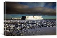 Icebergs Ross Sea Antarctica, Canvas Print
