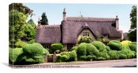 Thatched Cottage Chipping Campden, Canvas Print